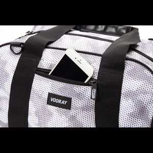 Vooray Bags - Vooray - Burner Gym Bag, Snow Hex Camo